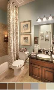 111 worlds best bathroom color schemes for your home for Kitchen colors with white cabinets with childrens bedroom wall art