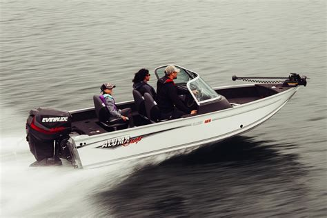 Lake Sport Aluminum Boats by 2017 Alumacraft Competitor 165 Sport Power Boats Outboard
