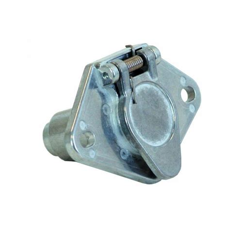 buyers tc1004 4 pin metal truck end trailer connector 4 69