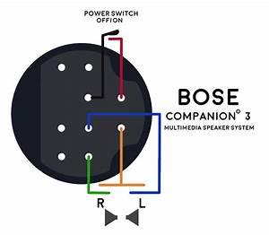 Bose Companion 3 Wiring Diagram