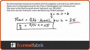 Lineare Funktionen Y Achsenabschnitt Berechnen : lineare funktionen gleichung aufstellen textaufgabe ~ Themetempest.com Abrechnung