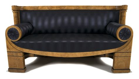 Biedermeier Sofa by Josef Danhauser Biedermeier Sofa Circa 1820s Colletti