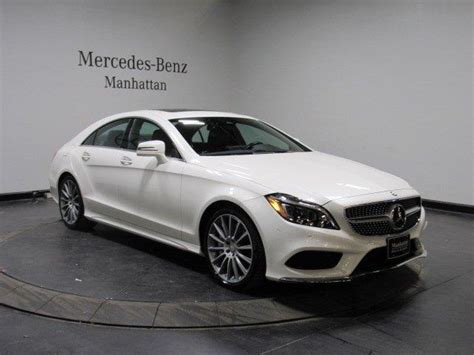 Went in to buy my first mercedes. Certified 2016 Mercedes-Benz CLS 550 4MATIC New York, NY ...