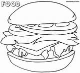 Different Coloring Pages Colorings Food7 sketch template