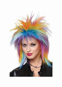 Spiky Rainbow Wig - Wigs