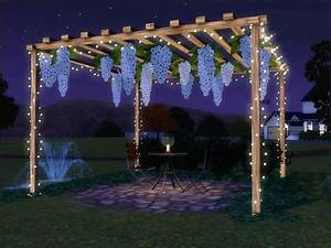 sim man12339s hawthorne patio set With sims 3 outdoor string lights
