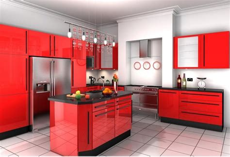 15 Contemporary Kitchen Designs With Red Cabinets  Rilane. Pictures Of White Kitchen Cabinets. New Kitchen Cabinets Price. Kitchen With No Top Cabinets. Floor To Ceiling Kitchen Cabinets. Kitchen Cabinets Stockton Ca. How To Seal Painted Kitchen Cabinets. Kitchen Ideas Cream Cabinets. Kitchen Cabinet Stand