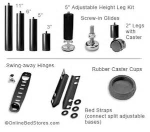Leggett And Platt Adjustable Bed Frame by Adjustable Bed Parts Amp Repair Replacement Legs Obs