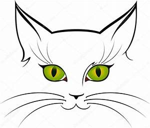 Vector image of cat eyes — Stock Vector © Forewer #7369663
