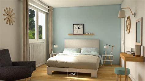 chambre parentale bleue bleu chambre feng shui