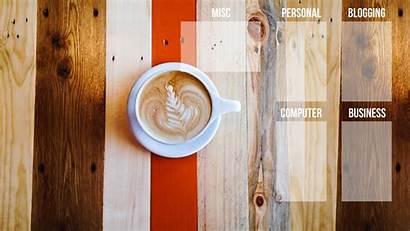 Background Desktop Organizer Coffee Computer Wallpapers Organization
