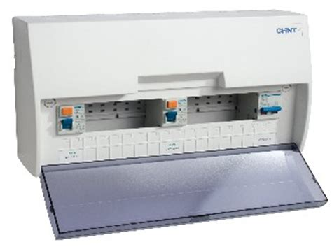 chint europe uk chint 17th edition consumer units