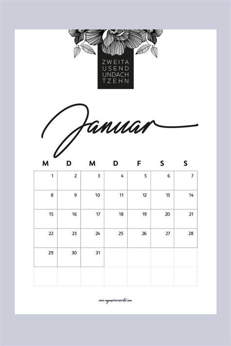 meine kalender  zum ausdrucken fuer dich  mirror