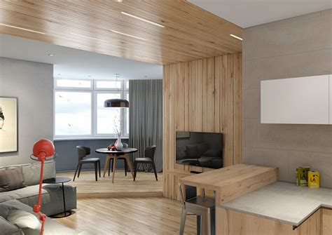 interior wood paneling two lovely apartments featuring wood paneling