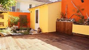 Evier D Exterieur Pour Jardin : am nagement du jardin de ville orange avignon cr ation ~ Premium-room.com Idées de Décoration