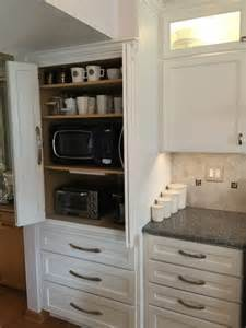 Hide Microwave In Cabinet appliance cabinet great to hide microwave toaster oven