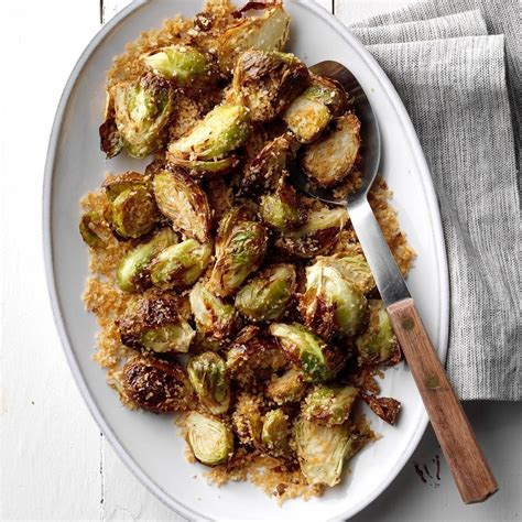 fryer air sprouts garlic rosemary brussels recipes taste brussel side dishes recipe carb low easy healthy go things sprout tasteofhome