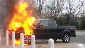 Car Fire  Ford F
