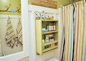 best 25 shelves over toilet ideas on pinterest toilet With efficient small bathroom storage ideas