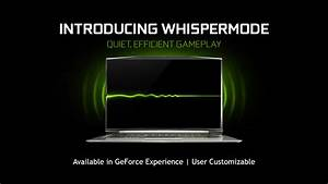 Introducing GeForce GTX Laptops with Max-Q Design: Thin ...