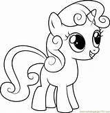 Coloring Belle Sweetie Pony Mlp Friendship Cartoon Magic Printable Coloriage Coloringpages101 Legna Colorare Bruciare Unicorno Amicizia Disegni Chauffage Licorne Coloriages sketch template