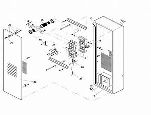 Faac 620 Cabinet Parts - Barrier Arm Operator Parts