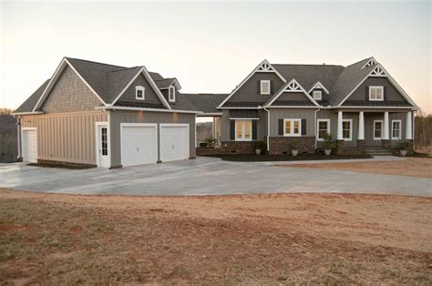 craftsman style house craftsman style homes garage