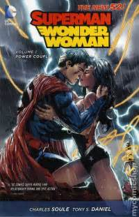 Superman Wonder Woman Comic Cover