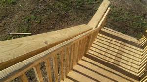 stair railing height for decks rs and interiors
