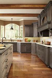 Painting stained cabinets traditional kitchen with gray for Kitchen colors with white cabinets with united states canvas wall art