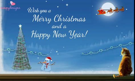 30 merry christmas and happy new year 2018 greeting card images