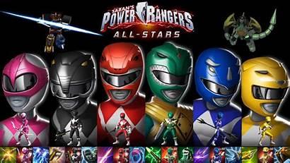 Rangers Power Zeo Mmpr Wallpapers Allstars Powerrangers