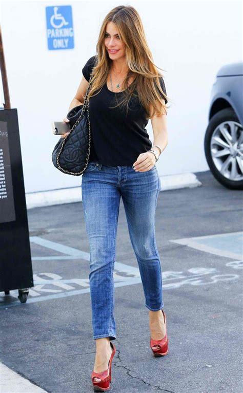 sofia vergara celebrities  jeans   sofia