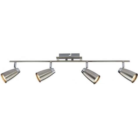 4 spotlight ceiling light bar ceiling spotlight lof8446 polished chrome spotlight