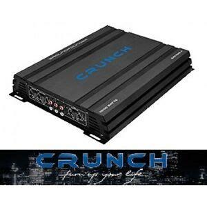 crunch gpx 1000 4 crunch gpx1000 4 4ch lifier 1000 watt max 4 kanal gpx 1000 4 b ware 806586210457 ebay