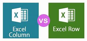 How To Draw Column Chart In Excel Excel Row Vs Excel Column Top 5 Best Differences You