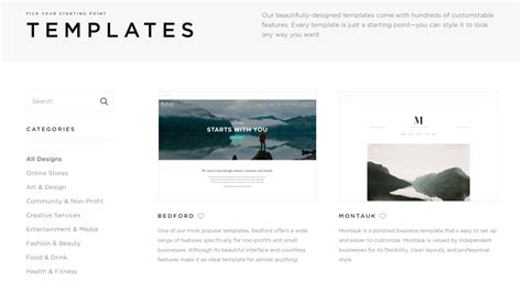 squarespace template comparison vs squarespace differences and features wpexplorer