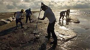 Latinos Help Clean Up Oil Spill - New America Media