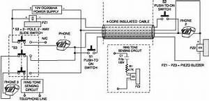 2 Line Intercom Plus A Telephone Changeover Switch