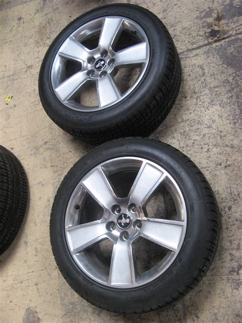 ford mustang rims and tires for 2006 mustang gt fanblade wheels and tires the mustang