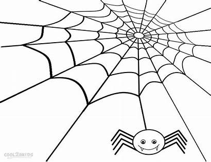 Spider Coloring Web Pages Printable Charlotte Charlottes