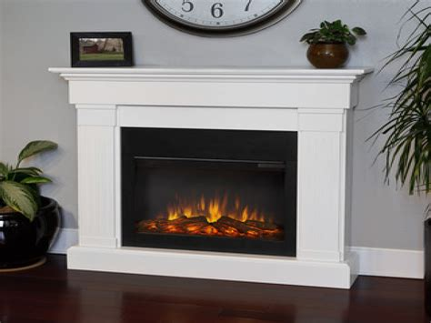 Electric Indoor Fireplaces, White Electric Fireplace