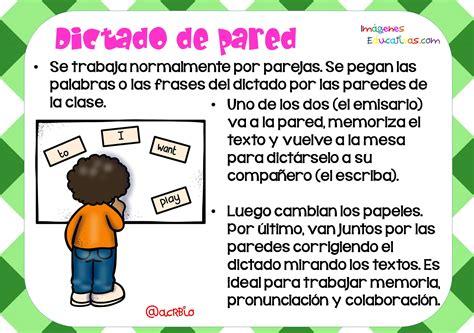 Tipos De Dictados (5)  Imagenes Educativas