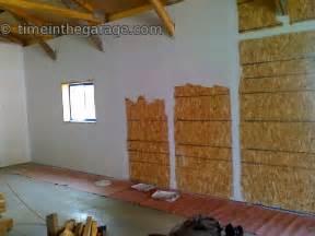 Garage Walls OSB Board