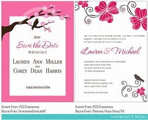 Beautiful Wedding Invitation Templates iPunya