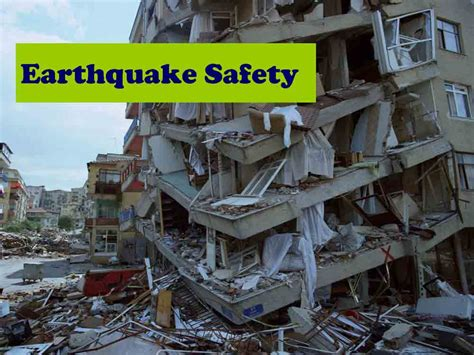 Notes On Pattern And Causes Of Damage By Earthquakes