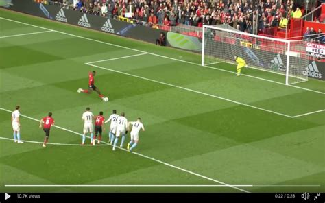 video pogba scores penalty  give united lead  west ham