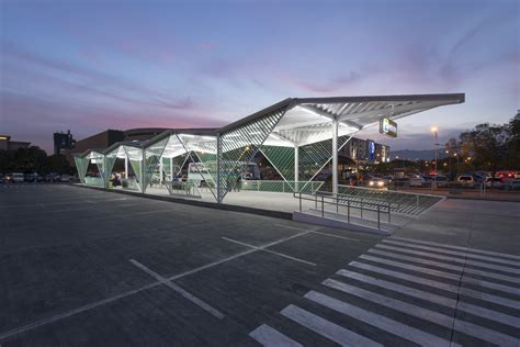 transit architecture first bus rapid transit station 1 e architect