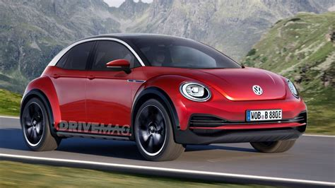 4 Door Beetle by This Is How The Next Volkswagen Beetle Might Actually Turn Out