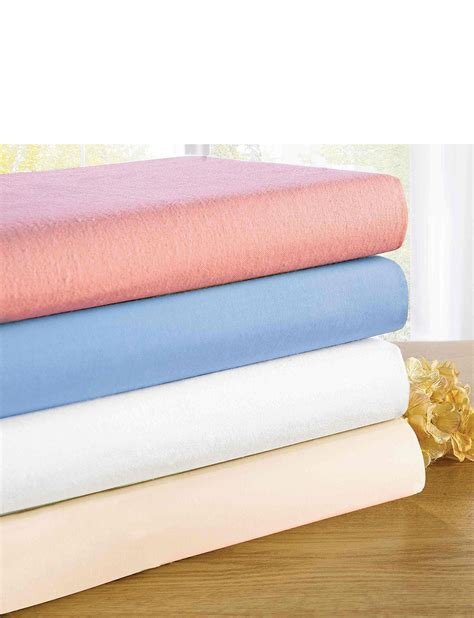 extra deep 18 flannelette fitted sheet home textiles